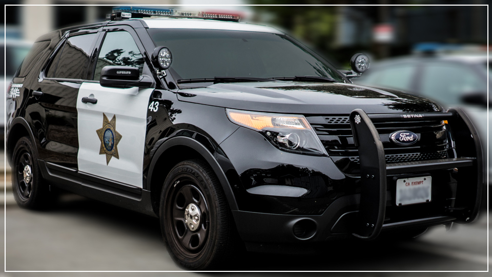SFSU Police Department image of new vehicle